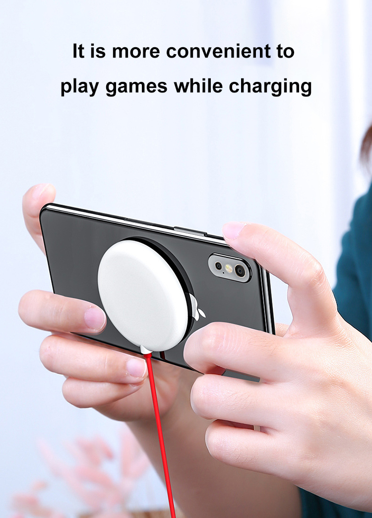 Mini Portable 5W Suction Cup Qi Wireless Charger Station