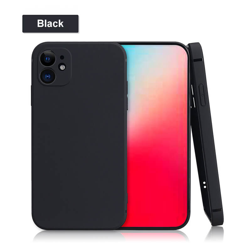 Square Colorful TPU iPhone Covers and Cases for iPhone 6/7/8/SE/XR/XS max/11/11 Pro/11 Pro max