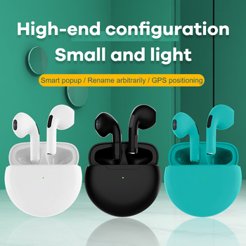 P63 BT5.0 Touch Control Bluetooth TWS Earbuds Earphone True Wireless Headset Supports Pop-up connection and GPS Positioning
