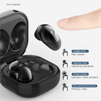 S6 True Wireless Stereo TWS Earbuds V5.0 Bluetooth Earphone Galaxy Buds For Samsung