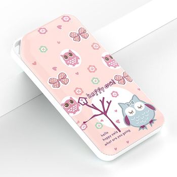 Cute Cartoon 4D Embossing Lucky Cat Dandelion Owl Bee Braid Dog Mobile Power Banks 10000mAh